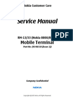 8800 rm-13 33 Service Manuall level4