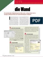 Netzwerk - Mobile Computing - Wlan Aufbauen - Durch Die Wand (Pcdirekt 10.2003)(21 S)