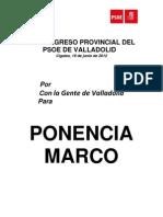 Ponencia Marco congreso provincial 2012
