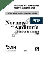 Libro Completo Normas Audi Boliv