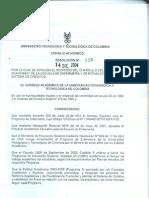 Resolucion 126 de 2004
