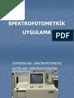 spektroskopi sunum