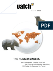 Food Watch - The Hunger Makers How Deutsche Bank, Goldman Sachs and Other Financial Institutions Are Speculating With Food at the Expense of the Poorest