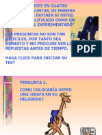 Test a Profesionales