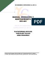 Manual Plat