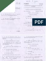 Maurai kamaraj university MCA exam paper may 2008