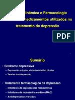 Fármacos usados no tratamento dos distúrbios afetivos depressão e mania