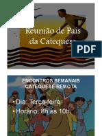 REUNIÃO DE PAIS - Primeira