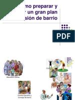 Plan Misional de Barrio