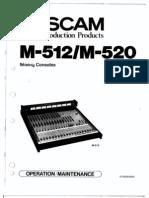 tascam m520