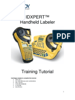 Idxpert Tutorial