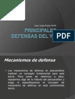 Principales Defensas Del Yo