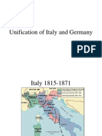 Unification of Italy and Germany