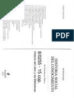 80255 Burke Peter - Historia Social Del Conocimiento Cap3