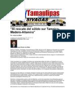 LERA. Al rescate del sólido sur Tampico-Madero-Altamira