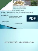 Introducción a La Simulacion