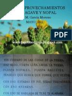 Usos y Aprovechamientos Del Agave y Nopal