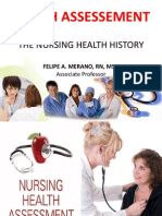 The Nursing Health History