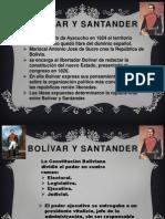 Bolívar y Santander expo