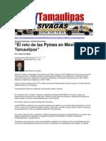 LERA. El Reto de Las Pymes en Mexico y Tamaulipas