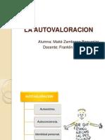 autovaloracion