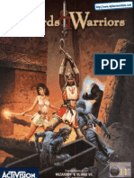 Wizards and Warriors - UK Manual - PC