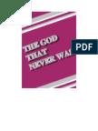 The God That Never Was - Ahmad Deedat