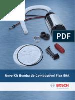 BOSCH F000TE159A NOVA BOMA DE COMBUSTIVEL FLEX