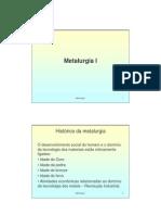 Microsoft Power Point - Metalurgia I - Parte I