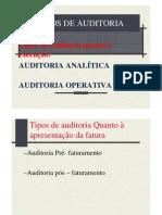 Auditoria Tipos Auditoria