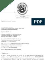 TSJ Regiones - Decisión_argenis