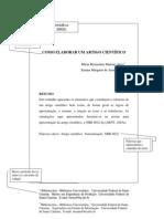 ARTIGO CIENTÍFICO - Modelo ABNT - atualizado 2010
