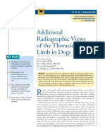 2.8 Additional Radio Graphic Views of the Thoracic Limb in Dogs