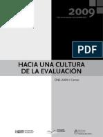 2009 Hacia Una Cultura EVALUACION Interior OK