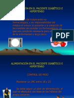 ALIMENTACIÓN EN EL PACIENTE DIABÉTICO E HIPERTENSO