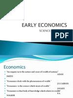 Early Economics