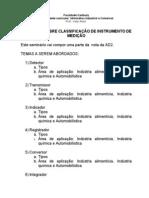 Trabalho Sobre Instrumentação-2012-1