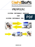 Proposal Sistem Informasi Sekolah Gratis