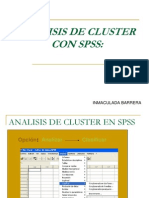 Analisis de Cluster Con SPSS
