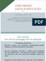 DEMOCRACIA E EDUCAÇÃO JONH DEWEY