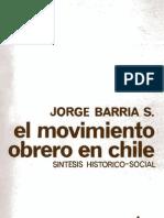 Barria - Etapa Heroica Del Movimiento Obrero