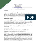 Quarterly Letter Q1 2012