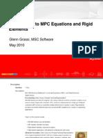 MPC Equations Rigid Elements-5!13!2010