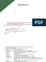 Work Procedure Format (April 2011)