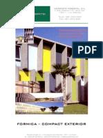 Especificaciones Tecnicas Compact-Formica