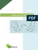 Anais IV MOPESCO 2010