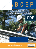 NABCEP PV Installer Resource Guide Dec2011