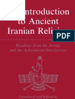 Malandra 1983 an Introduction to Ancient Iranian Religion, Readings From the Avesta and Achaemenid Inscriptions