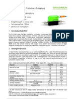 Datasheet Liquid Flow Meter SLQ HC60