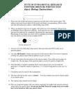 Tifer Exam Paper